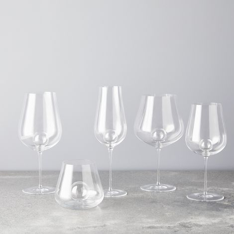 Schott Zweisel Mouth-Blown Bubble Wine Glasses