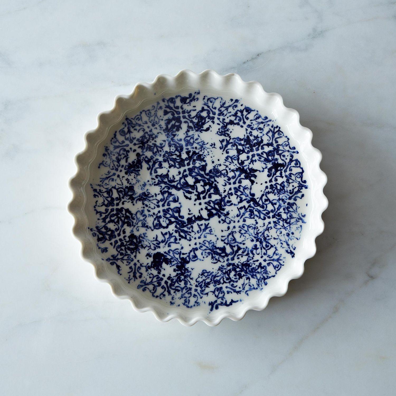 Pour La Tourti 232 Re D Annette Stoneware Pie Plate On Food52