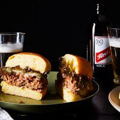 Beef & Kimchi Burgers