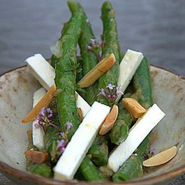 Green Bean and Feta Salad in a Shallot Vinaigrette