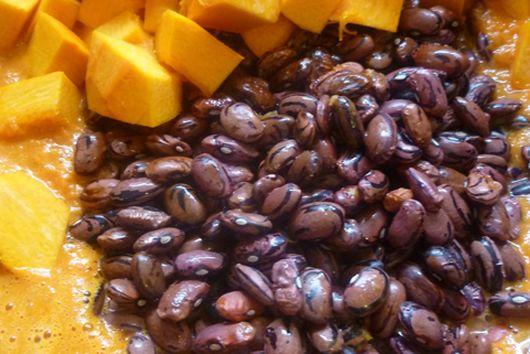 Pumpkin and Rio Zape Bean Soup