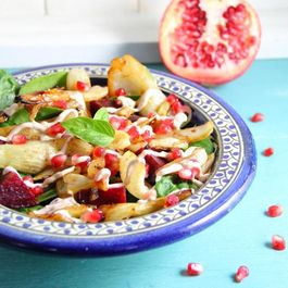 Warm Fennel & Pomegranate Salad