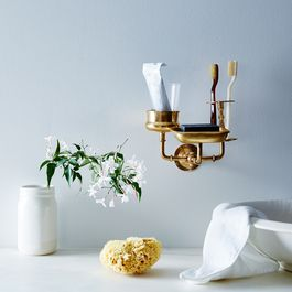 Brass Sink Caddy