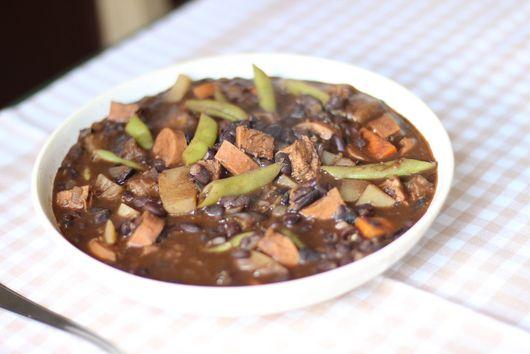 Vegetarian Brazilian bean stew