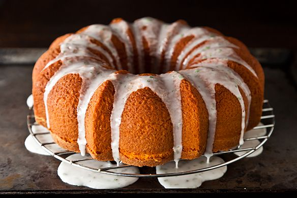 Ruby Red Grapefruit Cake