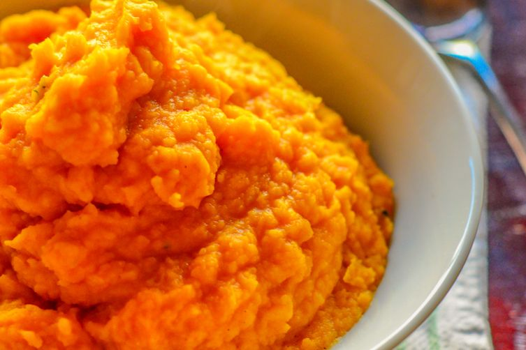 Roasted Butternut Squash and Bean Mash