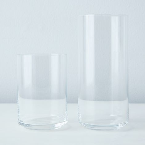 Handblown Simple Glassware (Set of 6)