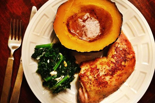Honey Nutmeg Acorn Squash