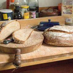 Whole wheat buttermilk bread