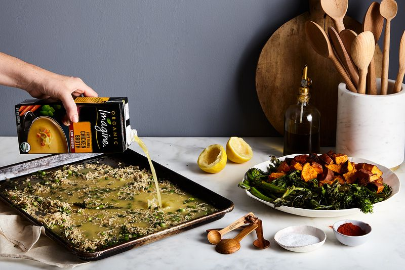 There's magic happening on this sheet pan...