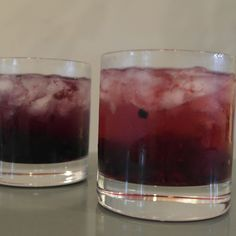 Summer in Provence Blackberry Gin Cocktail