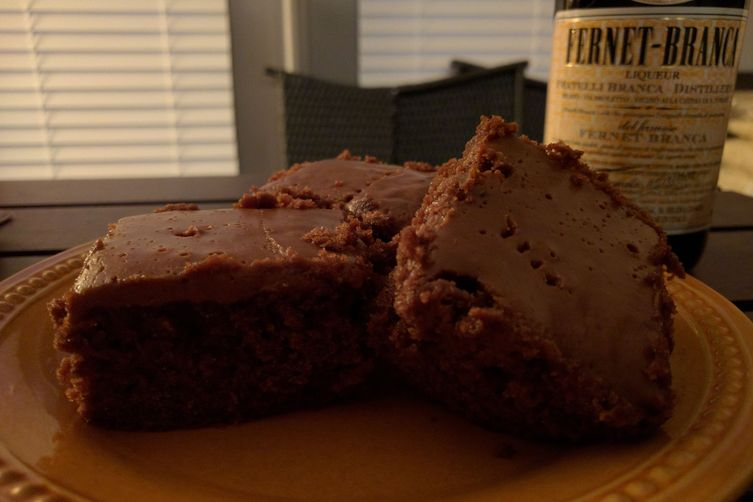 Coca-Cola Cake with Fernet-Branca