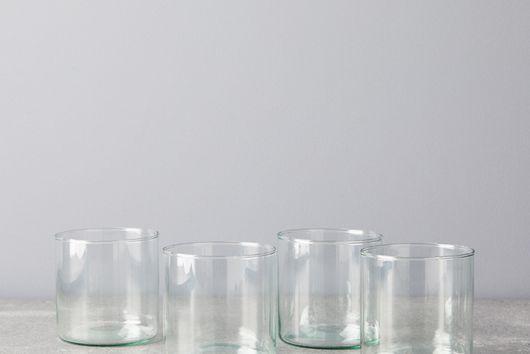 Handblown Recycled Glassware (Set of 4)