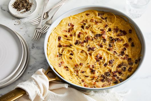 Spaghetti Carbonara Is Even Better As a Frittata