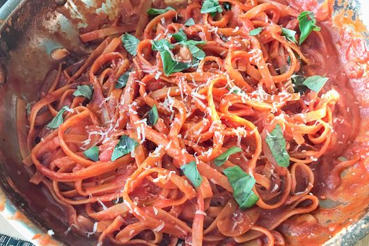One-Pan Pasta with Canned Tomatoes