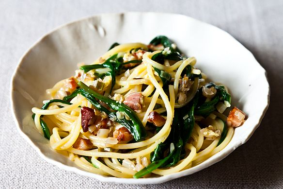 Ramp carbonara from Food52