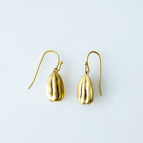Sunflower Seed Earrings