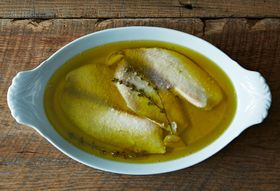 Tilapia Poached in Olive Oil with Thyme and Garlic