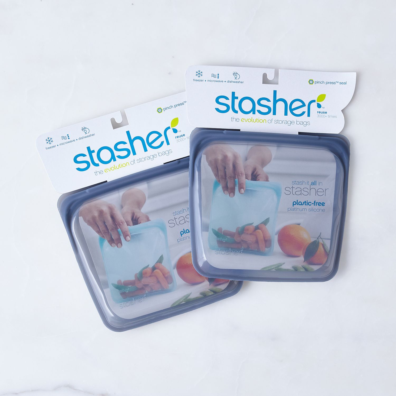 Reusable Silicone Storage Bags On Food52