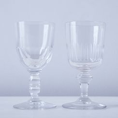 Vintage French Aperitif Glasses (Set of 2)