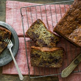 Banana Bread with Dark Chocolate Chips by NanciKnits