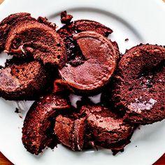 Individual Chocolate Cakes with Dulce de Leche and Fleur de Sel