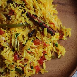 rice by karela