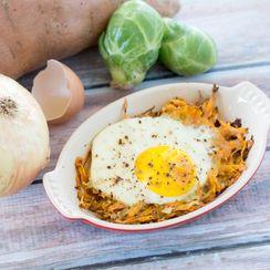 Sweet Potato Egg Bake