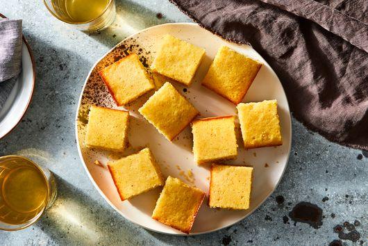 Lemony Cornbread Snacking Cake