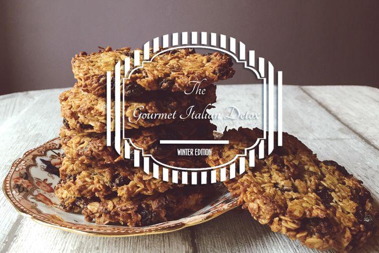 Oatlmeal & Olive Oil Detox Cookies