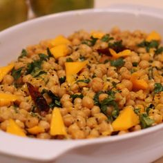 Chickpea Mango Salad