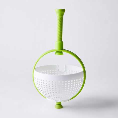 2-in-1 Collapsible Salad Spinner & Colander
