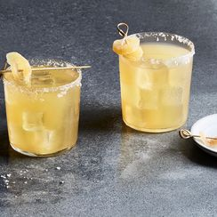 Smoky Pear & Ginger Margarita
