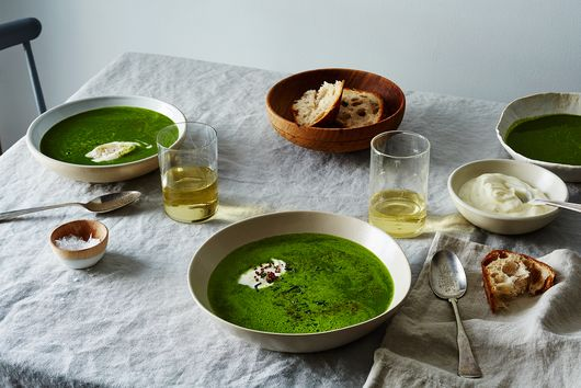 Turn Any Bunches of Greens Into a Lively Soup