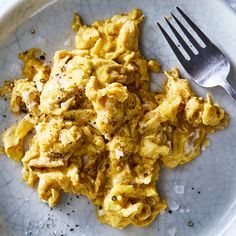 Brown Butter Scrambled Eggs