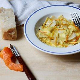 Orange and Ricotta Ravioli