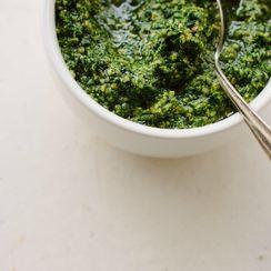 Vegan Kale + Pepita Pesto