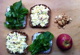 A New Kind of Egg Salad Sandwich