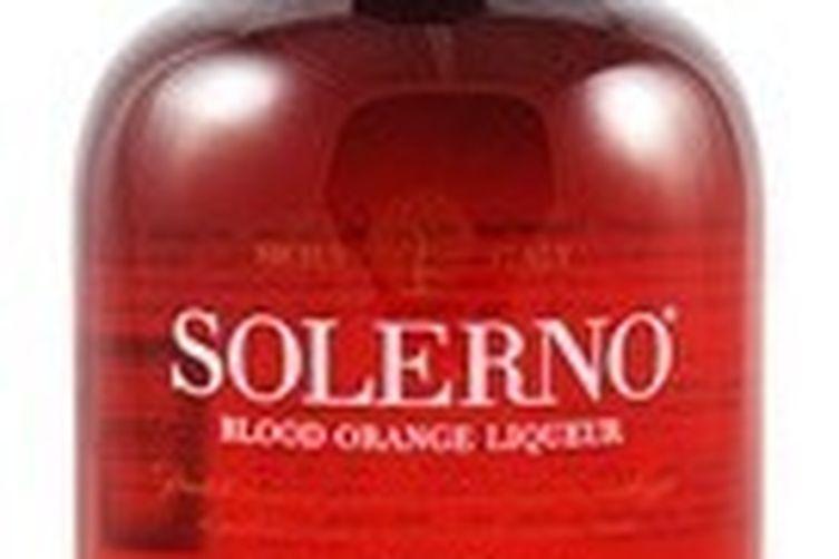Rustic blood orange and chestnut budino