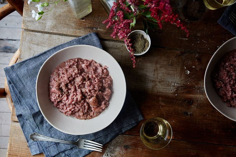Strawberry Risotto by Sara Jenkins Chopped Kitchen Sink Salad with ...