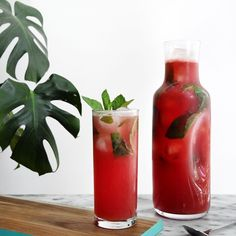 Sparkling Watermelon Vodka Lemonade