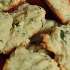 citrus basil ricotta cookies