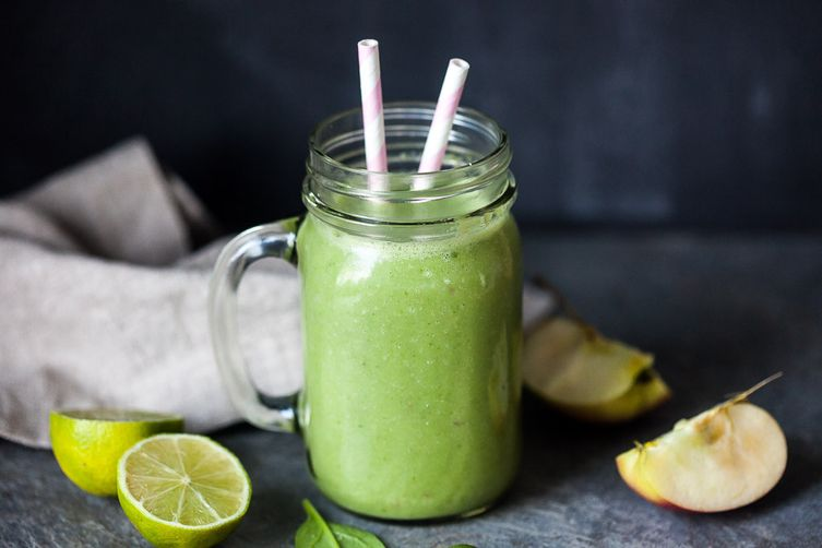 Detox Spinach Green Smoothie