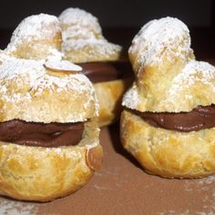 Ogulinska golubica (Ogulin dowe) - Cream puffs with chocolate mousse