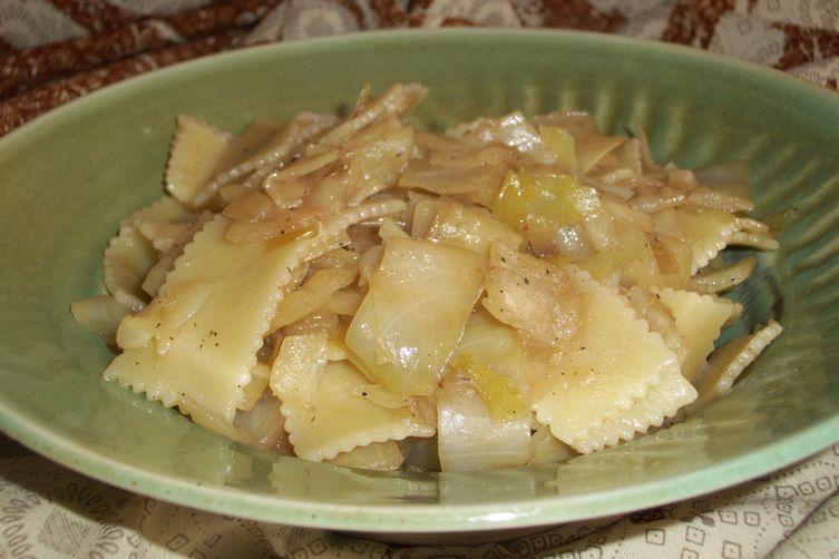 Cabbage with pasta   ( Krpice sa zeljem )
