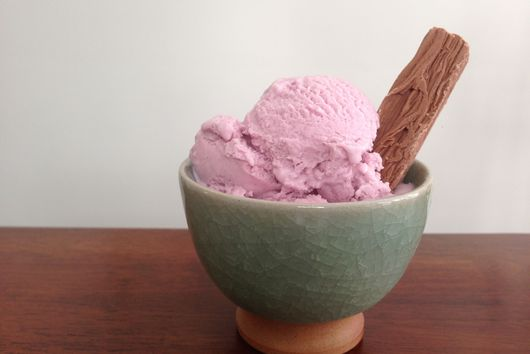 Purple Sweet Potato Vanilla Bean Ice Cream