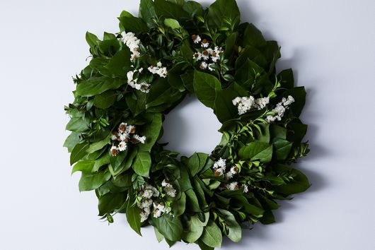 Spring Greens Wreath