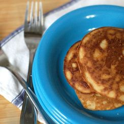 Five Minute Coconut Flour Pancakes
