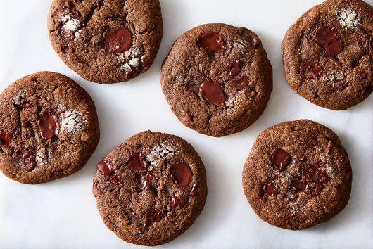 Triple-Ginger Chocolate Chunk Cookies