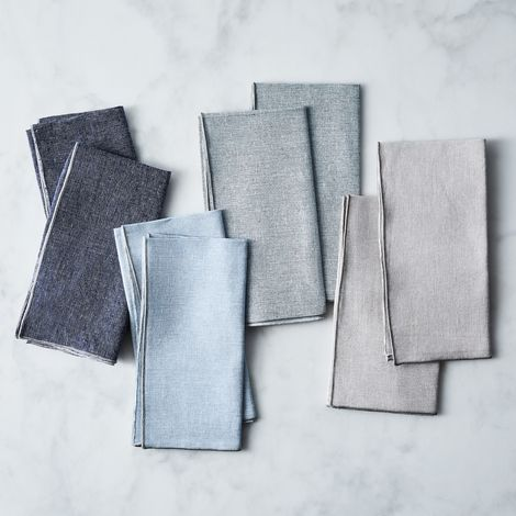 Neutral Linen Napkins (Set of 8)